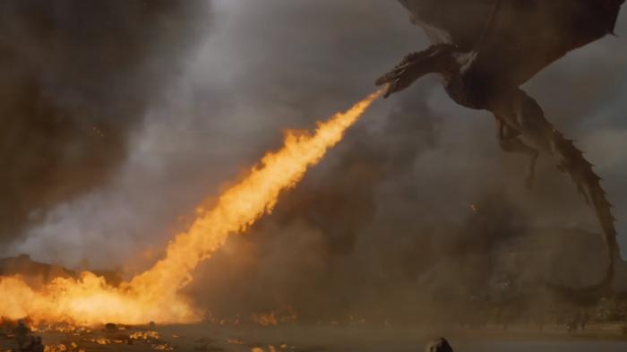 VES Awards Game of Thrones Drogon