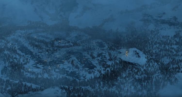 VES Awards Game of Thrones Frozen Lake