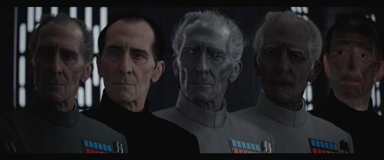 Peter Cushing recreado por CGI