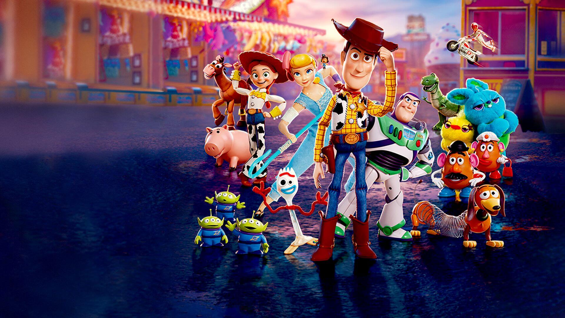 Toy Story 4 ganador del Oscar a Mejor Película Animada